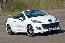 the car new peugeot 207cc black white special edition