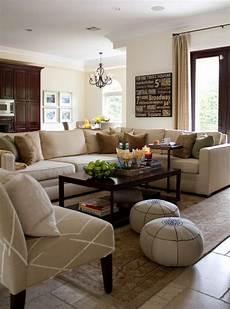 wohnzimmer gestaltung beige braun klassisch wohnzimmer