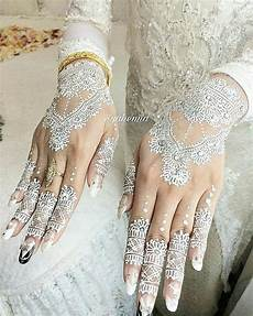 Gambar Ganbar Henna Putih Simple 34 Nangri Gambar Di