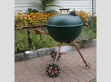 Steampunk Weber Grill   Things I've Made   Charcoal bbq