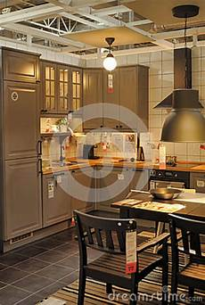 Kitchen Furniture Store Kitchen In Furniture Store Ikea Editorial Photography