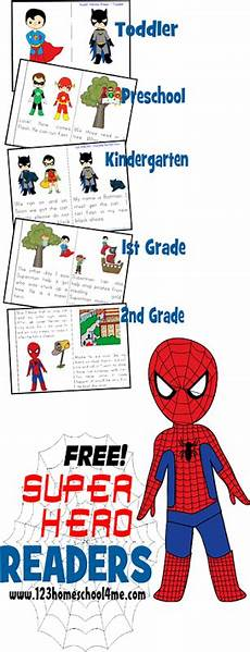 free superhero readers dolch sight words sight words and heroes