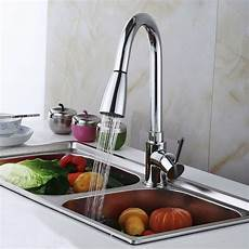 where to buy kitchen faucets 16 quot kitchen sink faucet chrome pull out spray swivel spout dispenser bp ebay