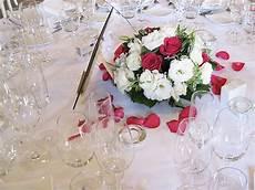 décoration florale mariage centre de table centre de table mariage et blanc d 233 coration florale