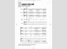 the song lean on me