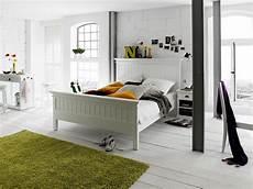 Bett Landhausstil Weiß - bett halifax landhausstil weiss 180x200 cm vintage