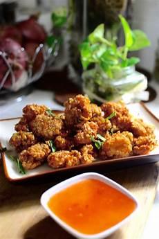 Masak Makan Ayam Oat Popcorn