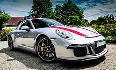 Porsche 911 R - silver porsche 911 r is just eye popping