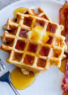 how to make the lightest crispiest waffles recipe