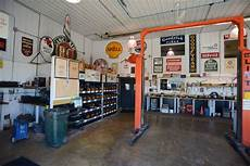 hobby garage suburban interior hobby garage and shop area garage