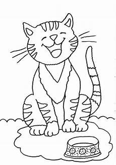 Ausmalbilder Katzen Zum Ausdrucken Kostenlos Katze Ausmalbild Malvorlagentv