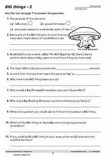 australian curriculum english literacy comprehension and writing year 3