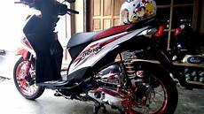 Modif Beat Fi by Modif Beat Fi Simpel Putih Merah