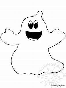 Gespenster Malvorlagen Ghost Coloring Page