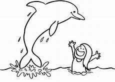 Malvorlage Delfin Zum Ausdrucken Ausmalbild Delphin Imagui