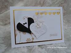 Hochzeitskarte Goldene Hochzeit Wedding Cards Tuxedo