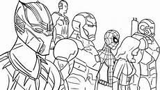 Comic Malvorlagen Vk Ausmalbilder Schwarzer Panther Superheld Marvel Kostenlos