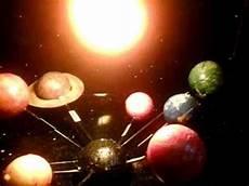 sistema solar giratorio materiales y procedimiento youtube