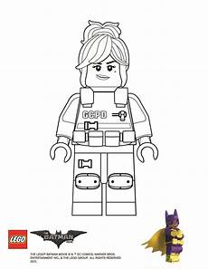 coloring page barbara gordon jackson 3rd birthday lego