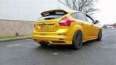 ford focus mk3 ford focus st mk3 2013 exhaust sound compilation
