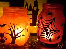 Painted Jar Candles