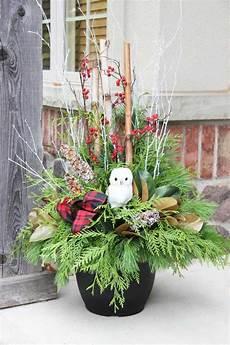 decoration exterieur noel composition florale no 235 l pour d 233 co de table et de l