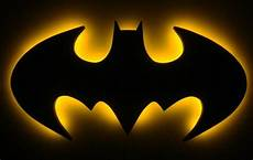 batman logo led wall light light
