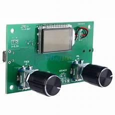 digital radio receiver test new dsp pll lcd digital stereo fm radio receiver module