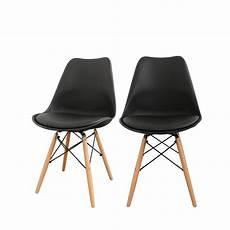 chaises scandinaves noires id 233 es de d 233 coration