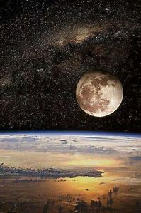 Earth Moon From Space