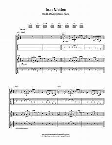 iron maiden guitar tab by iron maiden guitar tab 44171