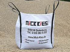 big pack kies mick kies gmbh quarz kies quarz sand schotter