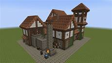 minecraft fachwerkhaus half timbered house 1