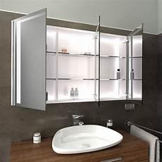 led spiegelschrank spiegelschrank mit led beleuchtung bergen glaswerk24