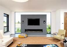 Wohnzimmer Mit Kamin Und Fernseher - 34 ideen f 252 r kamin und fernseher an einer wand