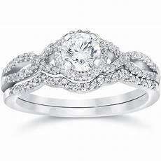 pompeii3 3 4ct diamond infinity engagement wedding ring