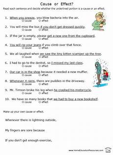 8 free cause effect worksheets colorful fun easy to download at fransfreebies com