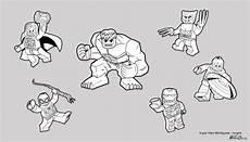 Malvorlagen Lego Marvel Lego Infinity War Ausmalbilder