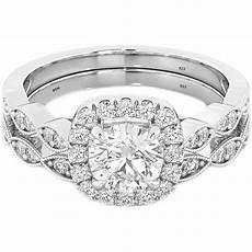 cushion cut cz halo design 2 piece genuine 925 sterling silver luxury unique affordable wedding