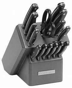 Kitchen Essentials Calphalon 16 Knife Set by Kitchenaid Silverite 16 Cutlery Set Cutlery