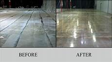 Floor Before And After by Slurry Will Be Cleaned Completely
