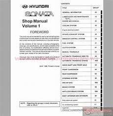free online auto service manuals 1996 hyundai sonata security system hyundai sonata 1997 service manual auto repair manual forum heavy equipment forums