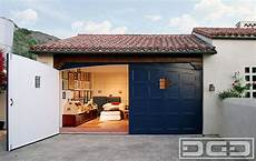Garage Spanisch by Los Angeles Real Out Swing Carriage Doors Designed