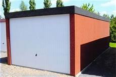fertiggarage blech verputzt blechgarage omicroner garagen