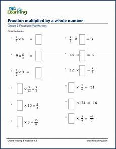 division of fractions worksheets for grade 5 4229 worksheets multiplying fractions by whole numbers missing factors k5 learning