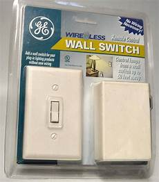 ge wireless wall switch remote control no wiring necessary good up to 50 ebay