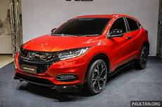 2018 Honda Hr V Facelift Now Available For Booking