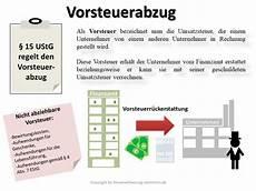 vorsteuerabzug definition erkl 228 rung steuerlexikon