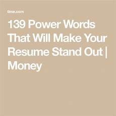 139 power words that will make your resume stand out