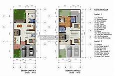 Rumah Minimalis Beserta Denahnya Terbaru Denah Rumah 2